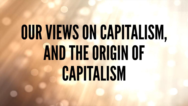 origin of capitalism